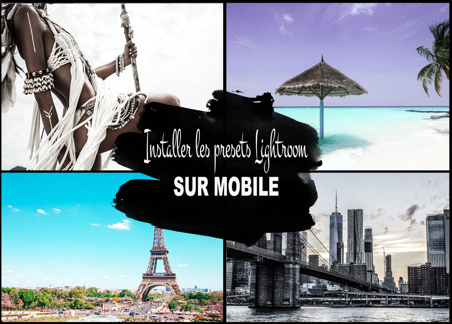 importer les presets lightroom sur mobile