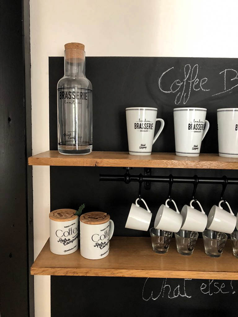 diy coffee shop